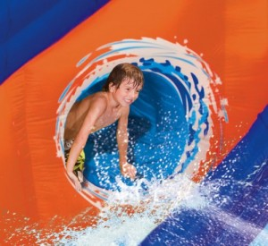 Banzai Pipeline Twist Aqua Park with water slide