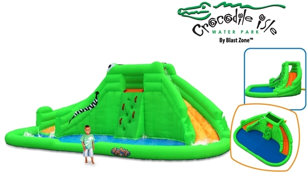 Blast Zone Crocodile Isle Water Park