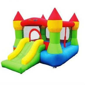 Bounceland Castle Bounce N' Slide w/hoop