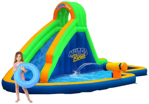 blast zone hydro rush inflatable waterpark